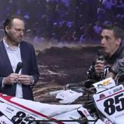 Excellents reportages en live au @salondu2roueslyon, le tout sur le stand du @team2b.upbymoraco !  #motocross #enduro