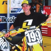 #tbt 2 légendes : @travispastrana et son guidon @protaper.   #motocross #supercross