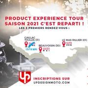 💥 Le planning du mois de mai va être chargé pour le @team2b.upbymoraco.  Rejoins-nous sur la première édition du Product Experience Tour - Gaillac Toulza 15 & 16 mai.  #motocross #enduro
